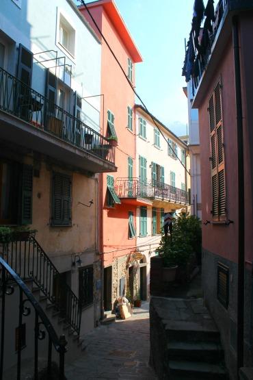 Corniglia street centre, Cinque Terre, BackpacktoBeyond