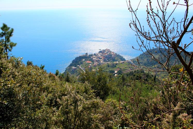 Looking down to Corniglia, Cinque Terre, BackpacktoBeyond