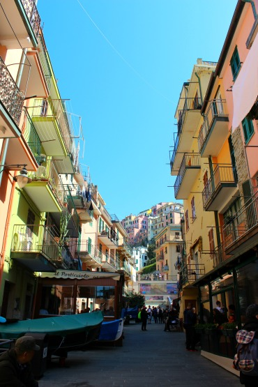 Manarola Street, BackpacktoBeyond