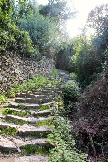 Path from Corniglia, Cinque Terre, BackpacktoBeyond