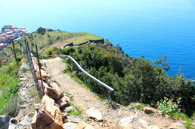 Path to Corniglia, Cinque Terre, BackpacktoBeyond
