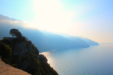 View from Corniglia, Cinque Terre, BackpacktoBeyond